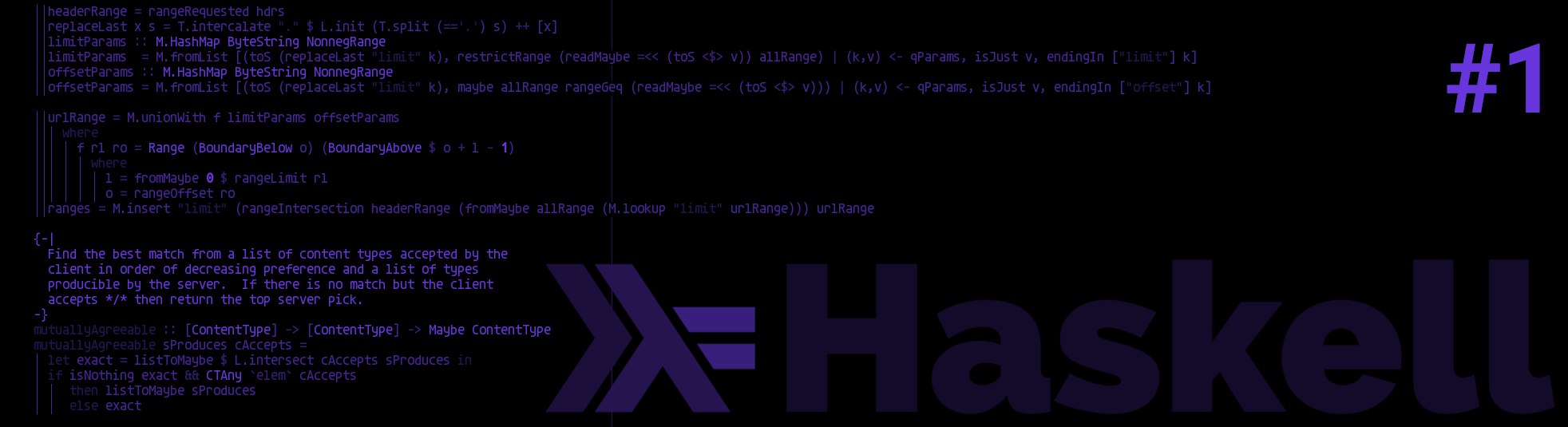 Haskell series part 1