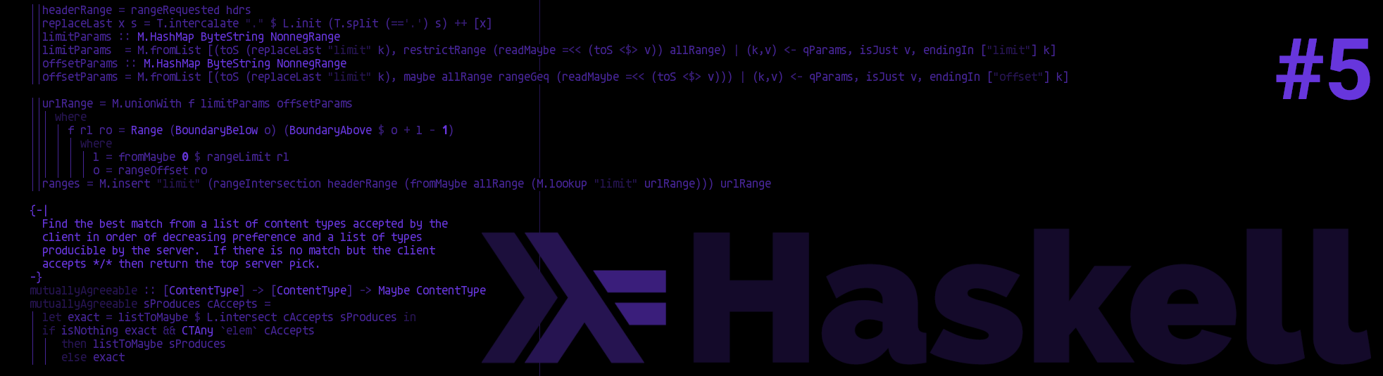 Haskell series part 5